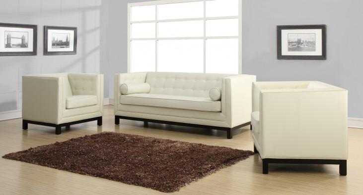 Zoe Cream Living Room Set