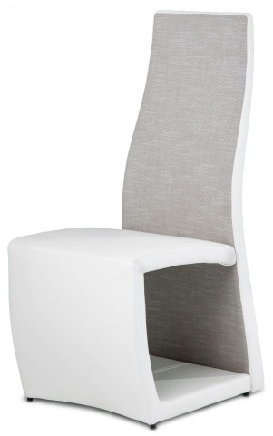 Trance Cosmo White Side Chair