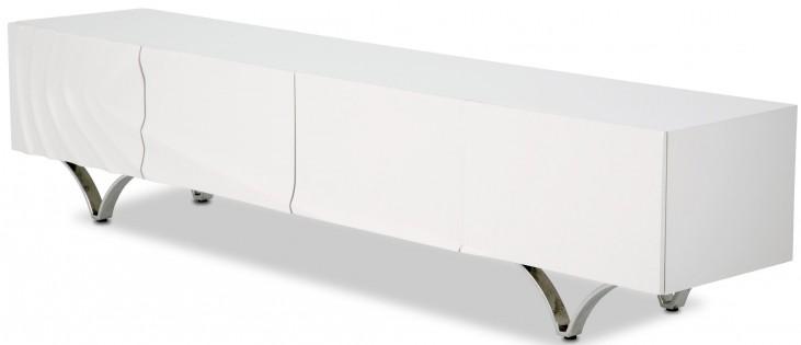 Trance Cosmo White TV Console