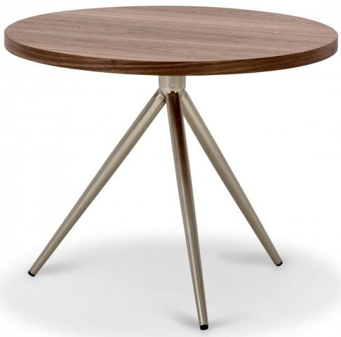 Trance Eclipse Brown Adjustable End Table