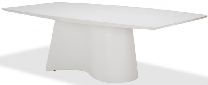 Trance Matrix Cream Dining Table