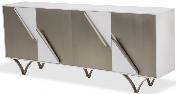 Trance Matrix White Sideboard