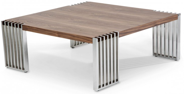 Trance Newport Brown Rectangular Cocktail Table