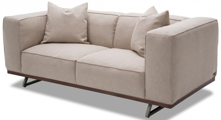 Trance Tempo Gray Loveseat