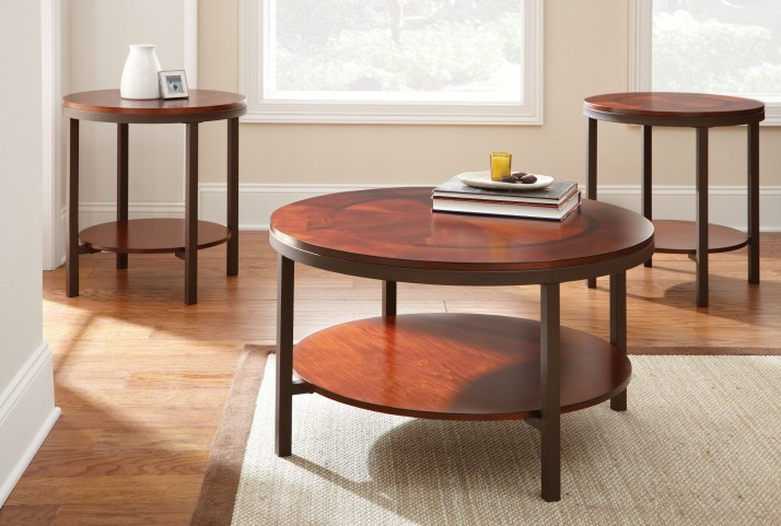 Trisha 3 Piece Occasional Table Set