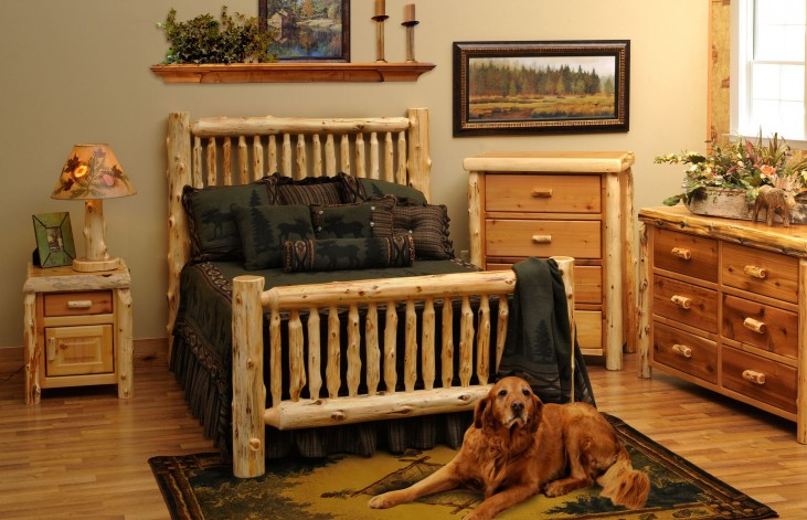 Cedar Youth Small Spindle Bedroom Set