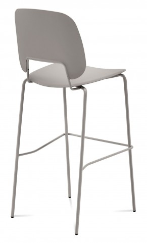 Traffic Sand Lacquered Steel Sand Frame Stacking Chair