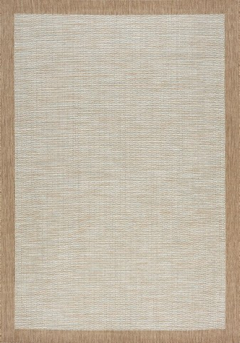 Trellis Grey/Brown Border Flatweave Medium Rug