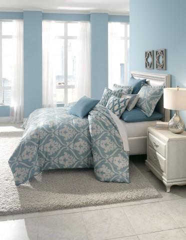 Tucson Turquoise 9 piece Queen Comforter Set