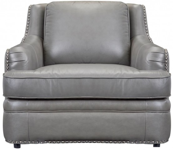 Tulsa Dark Gray Swivel Chair