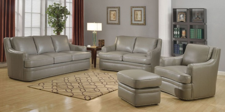 Tulsa Dark Gray Living Room Set