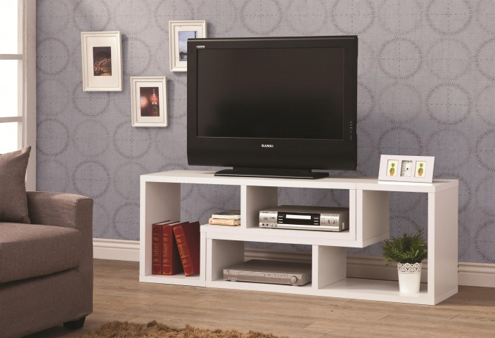 Design it your way White TV Console