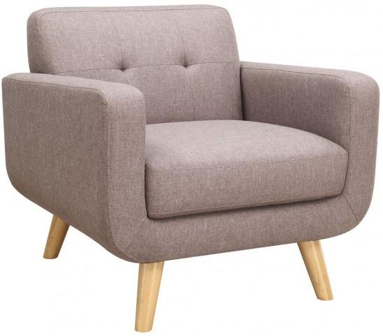 Wiley Brown Chair U4267 02 05 Emerald Home Furnishings