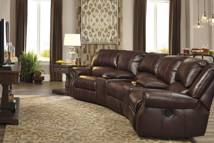 Collinsville Chestnut Home Theater Seating