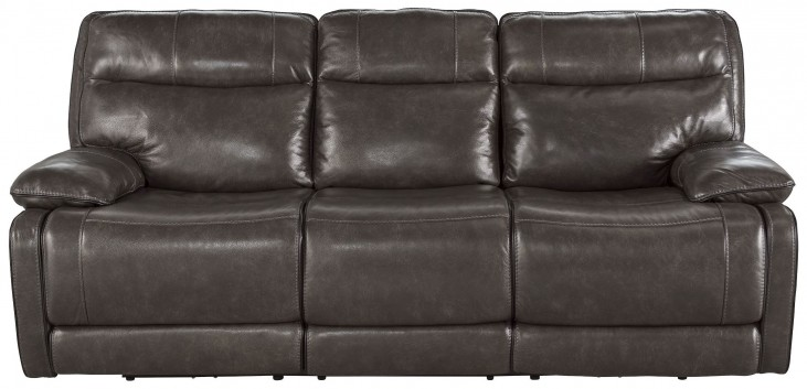 Palladum Metal Reclining Sofa