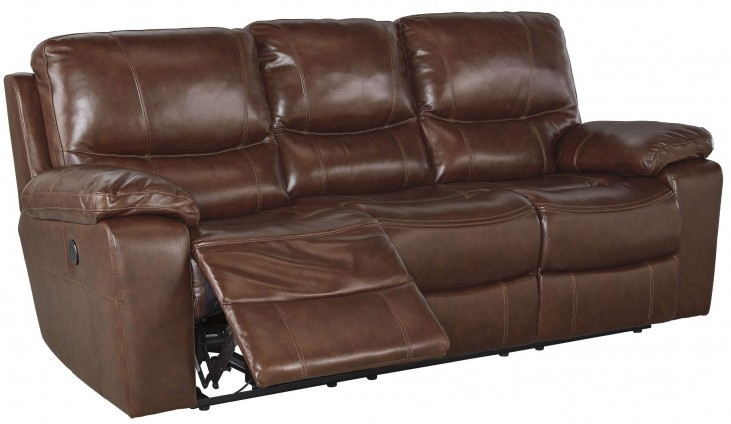 Penache Saddle Power Reclining Sofa