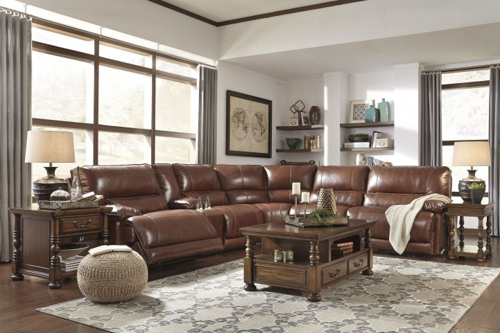 Kalel Saddle Reclining Sectional