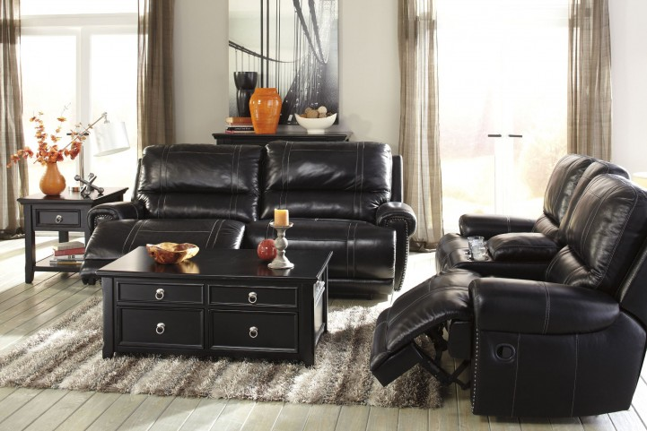 Paron Antique Reclining Living Room Set