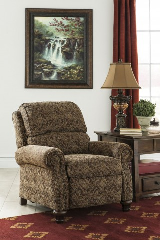 Walworth Accent Garnet Low Leg Recliner