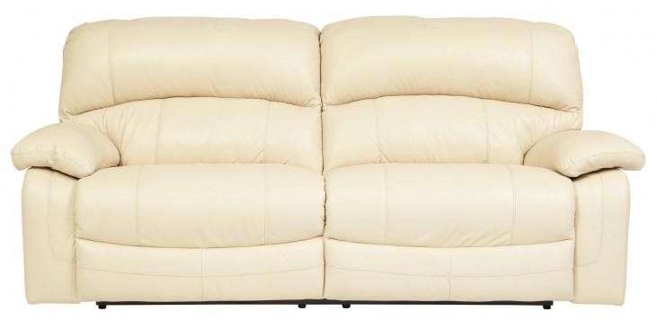 Damacio Cream 2 Seat Power Reclining Sofa