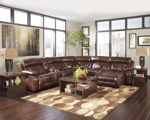 Elemen Harness Right Arm Facing Power Reclining Sectional
