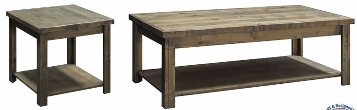 Joshua Creek Barnwood Occasional Table Set