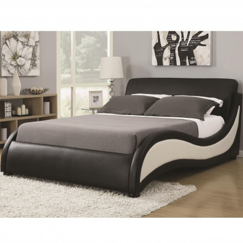 Niguel Modern King Upholstered Bed