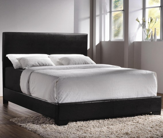 Conner Dark Brown King Platform Bed