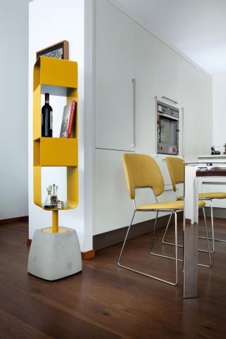 Urban Mustard Body Swivel Bookshelf