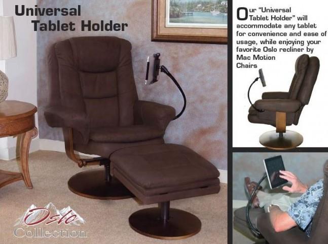 Oslo Black Universal Tablet Holder