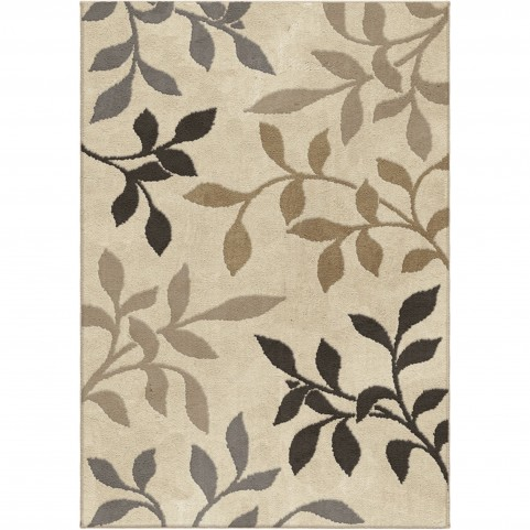 Falling Leaves Ivory Medium Rug