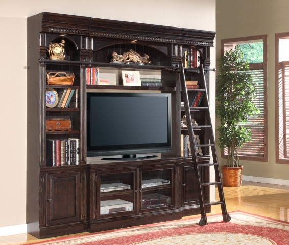 "Venezia Library 50"" Spacesaver Entertainment Wall Unit"