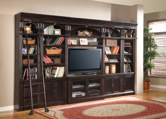 "Venezia Library 50"" Entertainment Wall Unit"