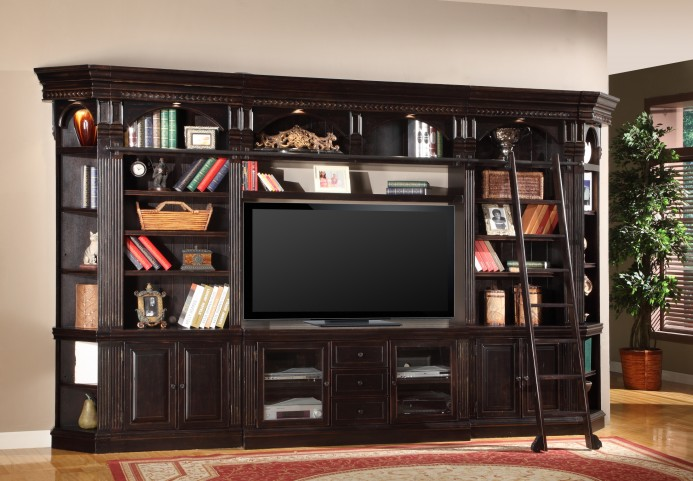 "Venezia Library 60"" Entertainment Wall Unit"