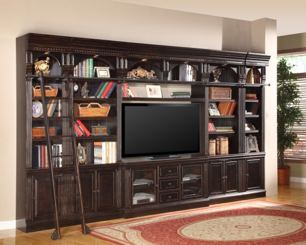 "Venezia Library 60"" Inset Entertainment Wall"