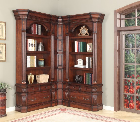 Versailles Small L-Shape Bookcase
