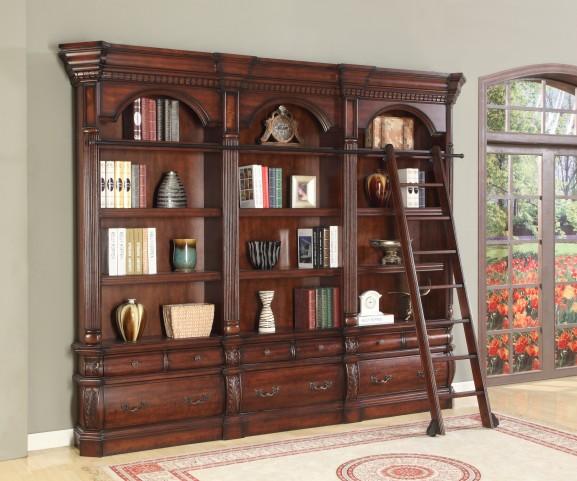 Versailles 3pc Museum Bookcase (9030 & 2-9031)