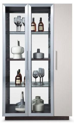 Vera White Curio Cabinet