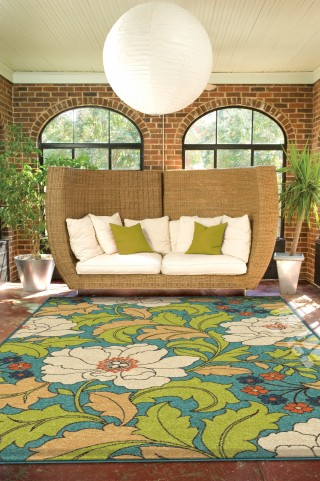 "Veranda Tillis Gemstone Small 65"" Rug"