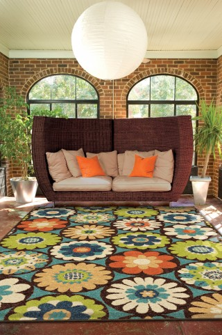 "Veranda Vissage Gemstone Medium 90"" Rug"