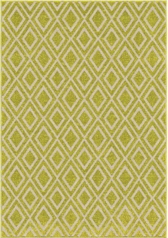 Orian Rugs Indoor/Outdoor Diamonds Trellis Green Area Small Rug