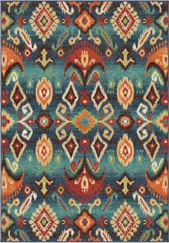 Orian Rugs Bright Color Southwest Aztec Monica Multi Area Medium Rug