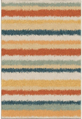 Orian Rugs Bright Color Stripes Stafford Multi Area Large Rug