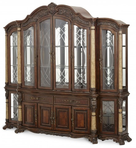 Victoria Palace China Cabinet with Piers