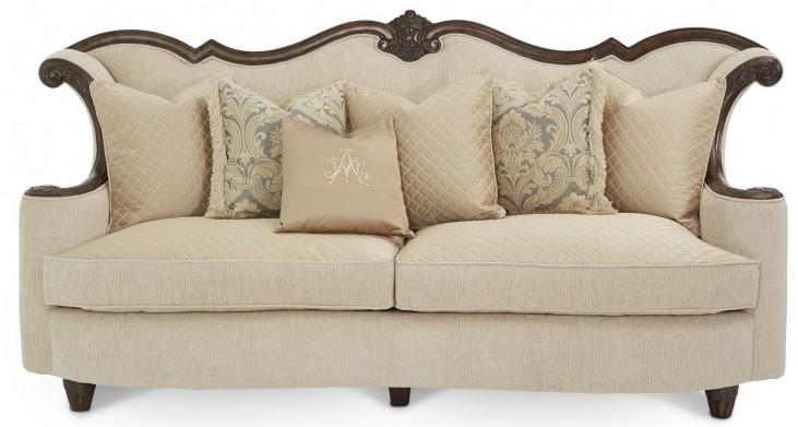 Victoria Palace Wood Trim Sofa