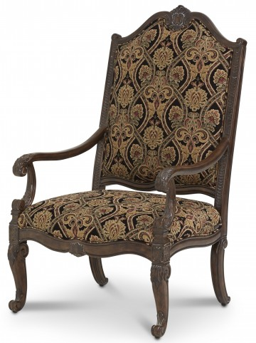 Victoria Palace Antique Fabric Wood Chair