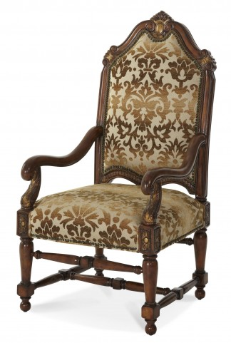 Villa Valencia High Back Wood Chair