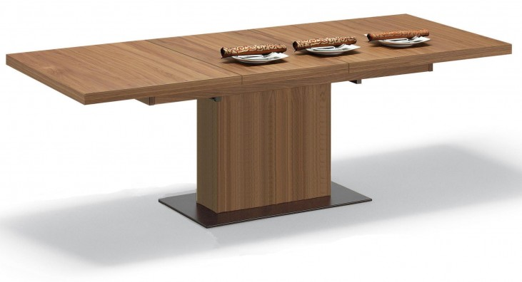 Vita Walnut Rectangular Table
