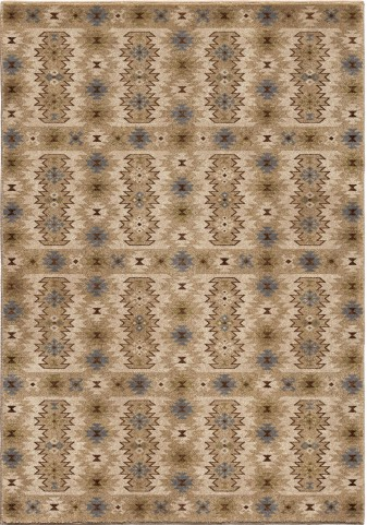 Orian Rugs Insanely Soft Southwest Kashgai Beige Area Small Rug