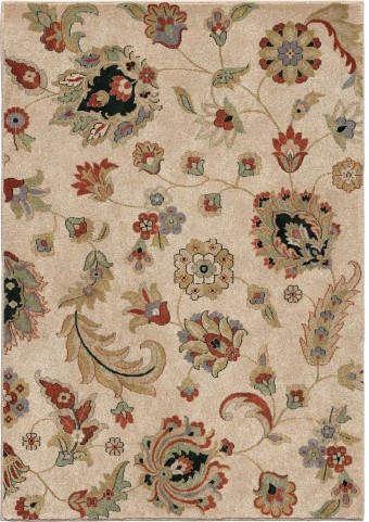 Orian Rugs Insanely Soft Floral Gambrell Beige Area Small Rug